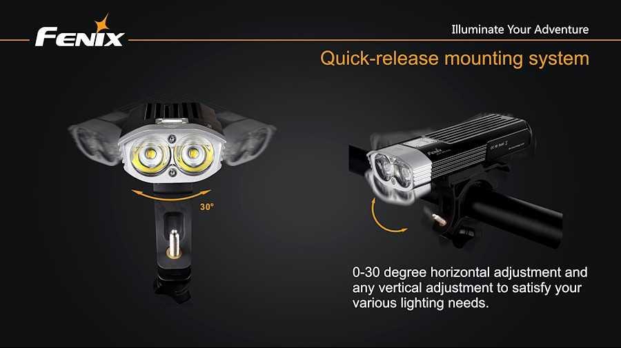 Fenix BC30 1800 Lumen LED Bilke Light