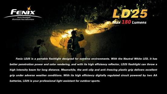 Fenix LD25 LED Torch